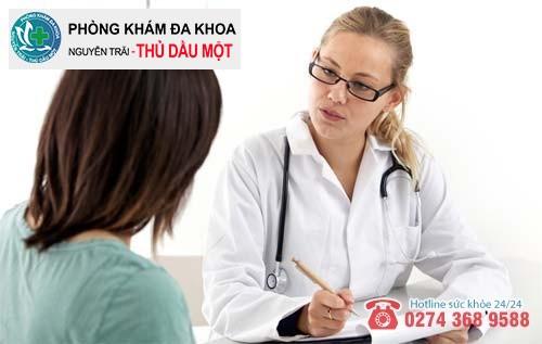 Chị em cần đến cơ sở y tế uy tín để nhận được sự hỗ trợ từ bác sĩ chuyên khoa