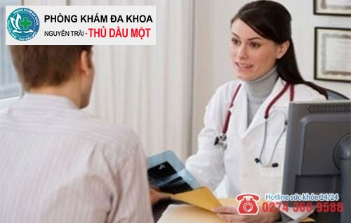 Bác sĩ sẽ trao đổi trực tiếp với bệnh nhân về chi phí hỗ trợ chữa mụn thịt vùng kín