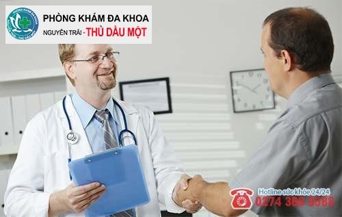 Hãy đến với Đa khoa Nguyễn Trải - Thủ Dầu Một để nhận sự hỗ trợ từ các bác sĩ nam giới ngoại khoa