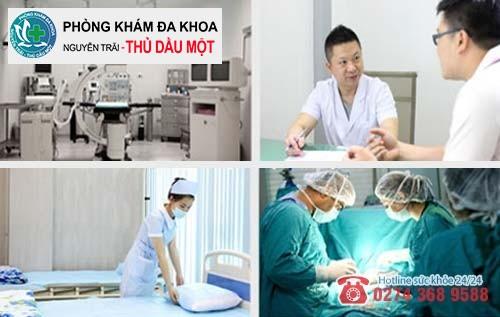 Đa Khoa Thủ Dầu Một nơi hỗ trợ điều trị bệnh hậu môn hiệu quả