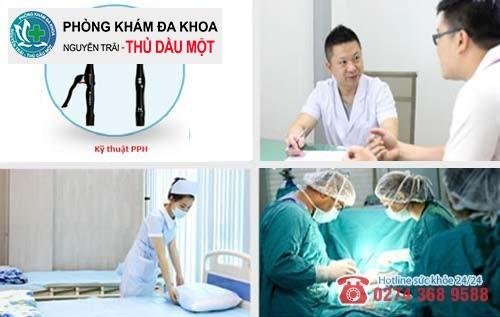 Đa khoa Nguyễn Trải - Thủ Dầu Một – Nơi hỗ trợ chữa trĩ nội uy tín tại Bình Dương