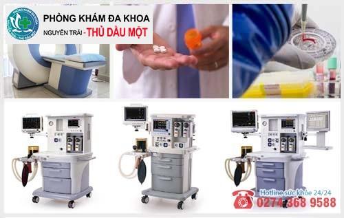 Phương pháp hỗ trợ trị bệnh hoa liễu tại Đa khoa Nguyễn Trải - Thủ Dầu Một