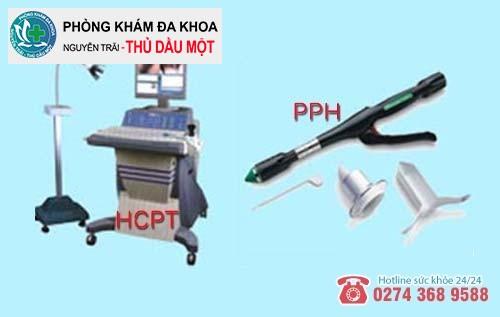 Phương pháp HCPT và PPH hỗ trợ điều trị u hậu môn