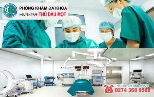 Bác sĩ có tay nghề cao, cơ sở vật chất, trang thiết bị đảm bảo an toàn
