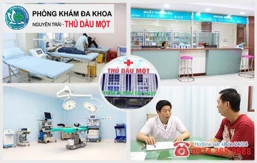 Đa Khoa Thủ Dầu Một nơi hỗ trợ điều trị sùi mào gà hiệu quả