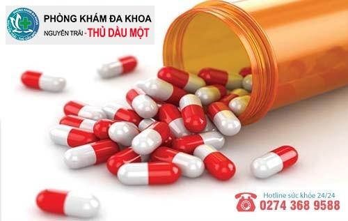 Thuốc hỗ trợ điều trị phải được bác sĩ kê toa