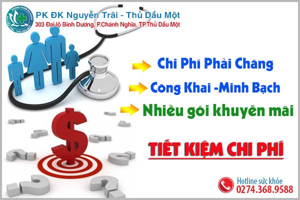 Chi phí khám chữa bệnh hợp lý