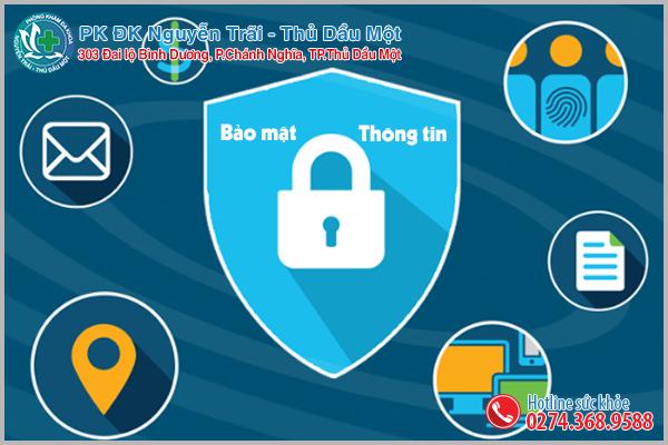 Đảm bảo tế nhị, riêng tư, thông tin bảo mật an toàn