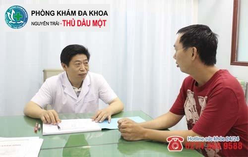 Bác sĩ sẽ giải đáp các thắc mắc của bệnh nhân