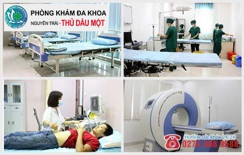 Đa khoa Nguyễn Trải - Thủ Dầu Một nơi hỗ trợ điều trị bệnh hiệu quả
