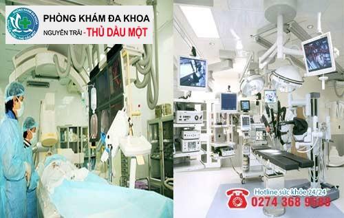 Phương pháp hỗ trợ trị bệnh lậu tiên tiến tại Đa khoa Nguyễn Trải - Thủ Dầu Một