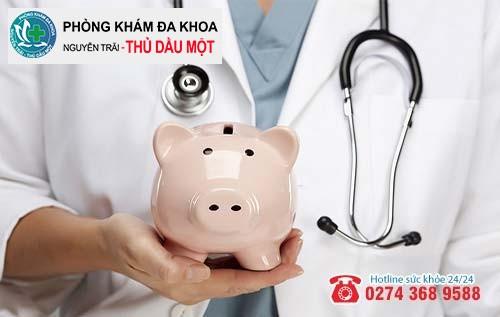 Chi phí hỗ trợ điều trị viêm hậu môn là bao nhiêu?