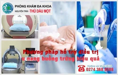 Phương pháp hỗ trợ điều trị u nang buồng trứng hiệu quả