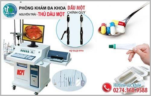 Cách chữa đi cầu ra máu tươi hiệu quả tại Đa Khoa Thủ Dầu Một