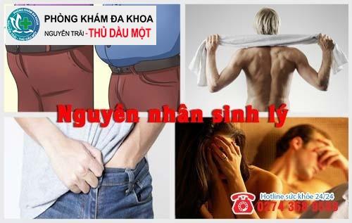 Nguyên nhân sinh lý gây viêm nhiễm sinh dục nam
