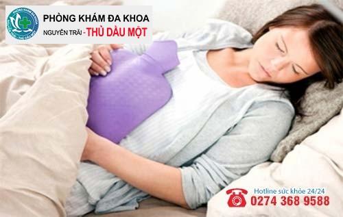 Đau bụng kéo dài là dấu hiệu bất thường sau phá thai