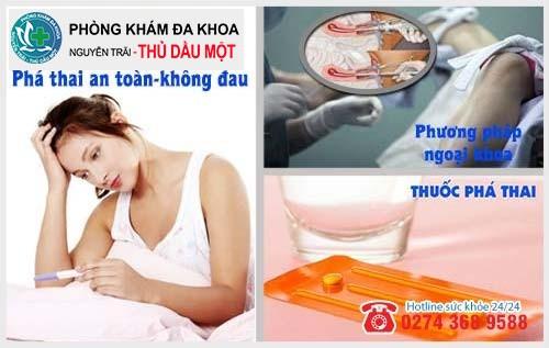 Phương pháp phá thai 2 tuần tuổi an toàn