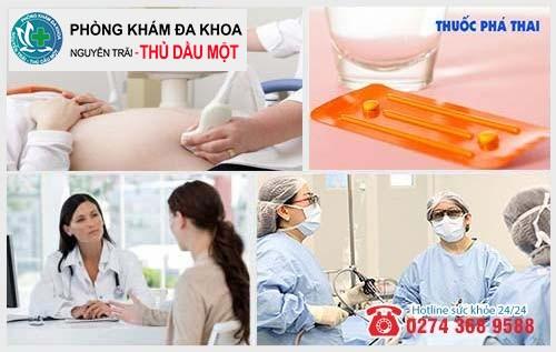 Đa Khoa Thủ Dầu Một áp dụng phá thai không đau, an toàn