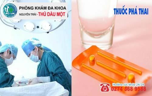 Phá thai bằng thuốc và hút thai phương pháp nào an toàn hơn?