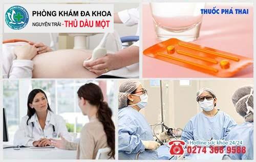 Phòng khám phá thai tại Dĩ An và Thuận An