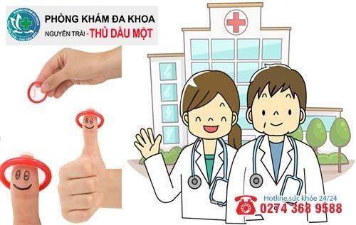 Phòng ngừa mụn rộp sinh dục bằng cách quan hệ an toàn và khám bệnh