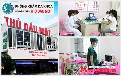 Đa khoa Nguyễn Trải - Thủ Dầu Một hỗ trợ điều trị viêm phần phụ uy tín