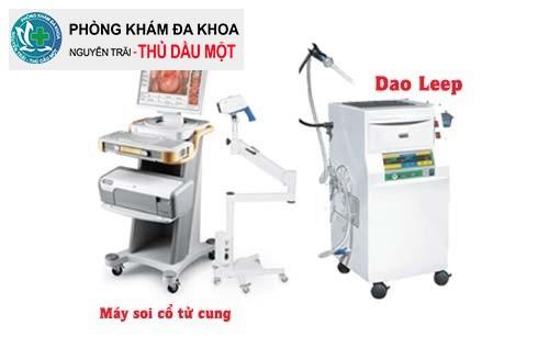 Dao LEEP hỗ trợ trị viêm lộ tuyến cổ tử cung cấp độ 2 hiệu quả