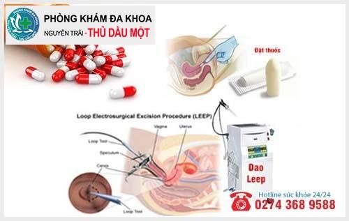 Phương pháp điều trị viêm lộ tuyến cổ tử cung độ 1