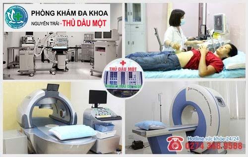 Phòng khám viêm tinh hoàn Thủ Dầu Một hội tự nhiều ưu điểm nổi bật